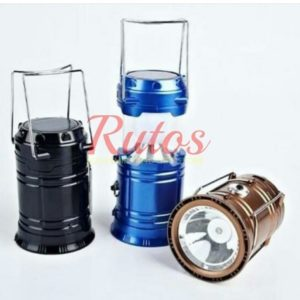 2in1 RECHARGEABLE SOLAR CAMPING LAMPS