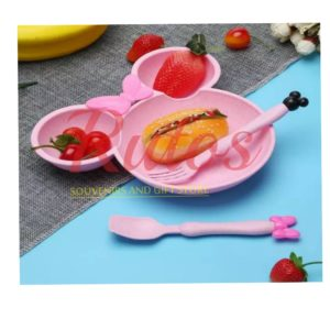 Mini shaped plates for kids