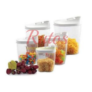 10 piece cereal container set