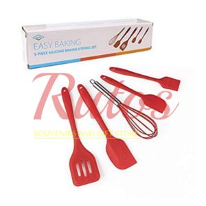 5 piece Silicone Baking Set